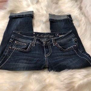 L.A. idol Jeans - L.A idol USA Stretch Crop 8100S Size 5
